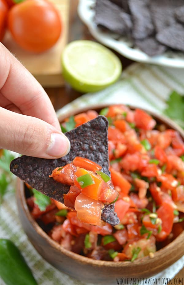 Garden-Fresh Tomato Salsa6