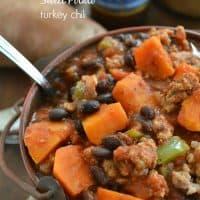 Sweet Potato Turkey Chili | wholeandheavenlyoven.com