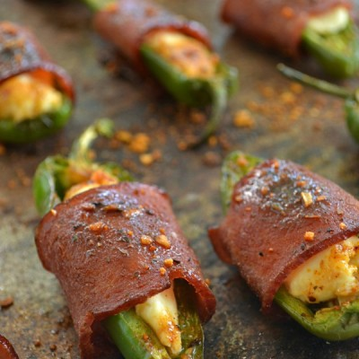Sweet 'n' Spicy Bacon-Wrapped Jalapeno Poppers9