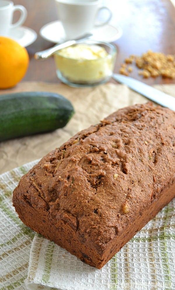 Ultimate Zucchini Bread | wholeandheavenlyoven.com
