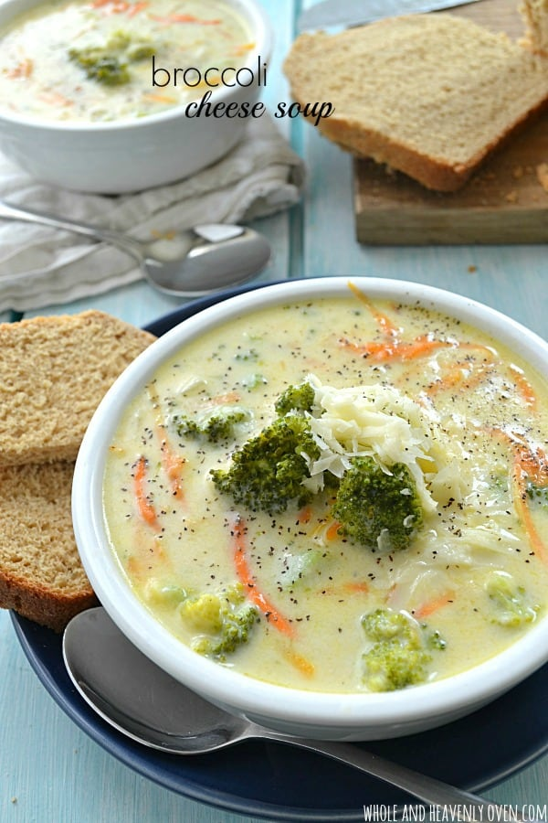 Broccoli Cheese Soup -- so much better than Panera's!