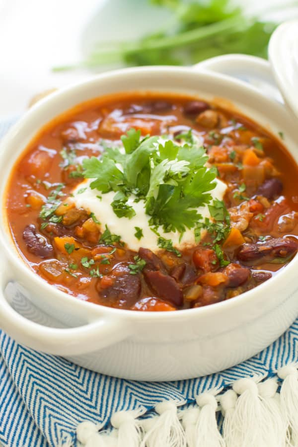 Extra-lean Turkey Chili with Carrots and Turnips