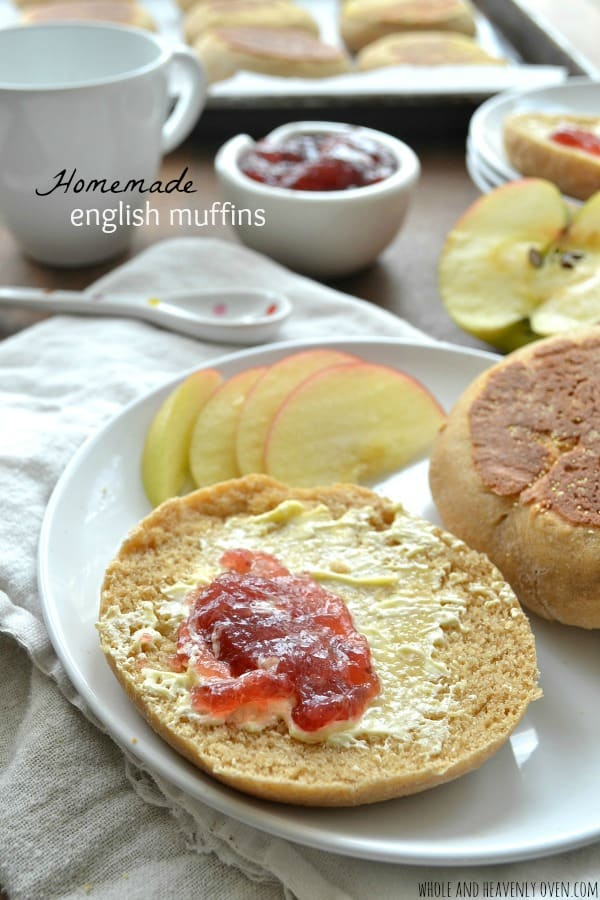 Homemade English Muffins -- so much better than storebought!