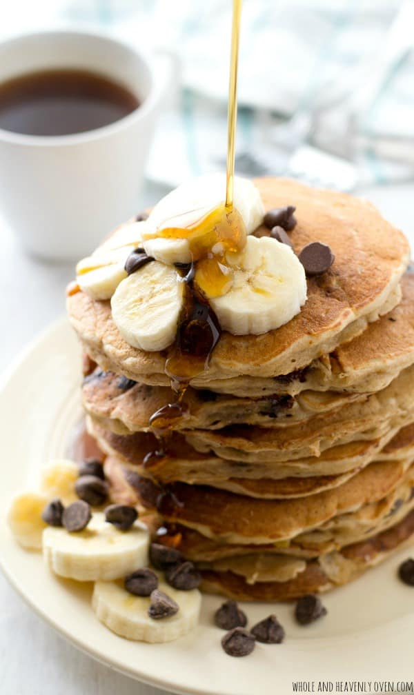 Banana-Oatmeal-Chocolate-Chip-Pancakes2