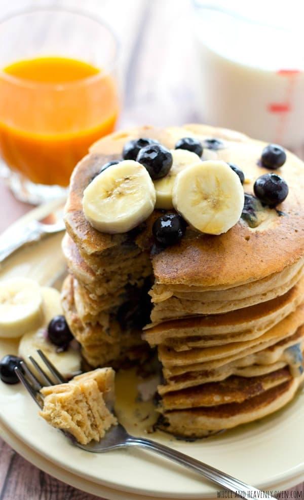 Fluffiest Ever Buttermilk Pancakes Homemade Pancake Mix