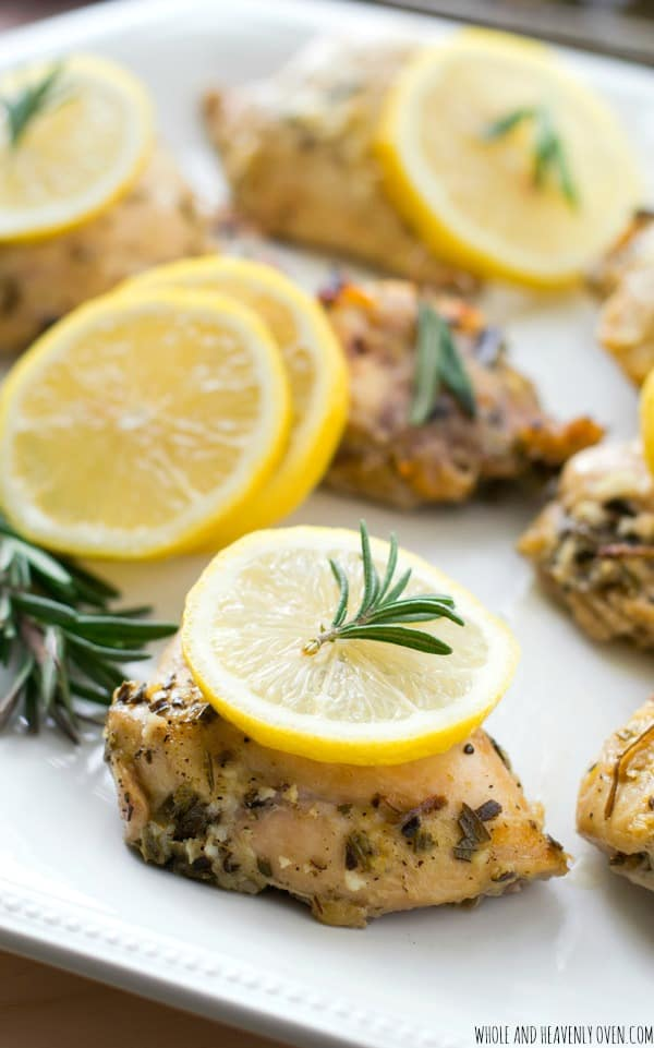 chicken may be simple, but it packs plenty of luscious lemon-rosemary ...