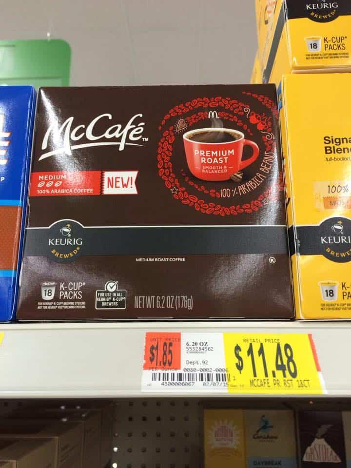 Kraft McCafe Coffee