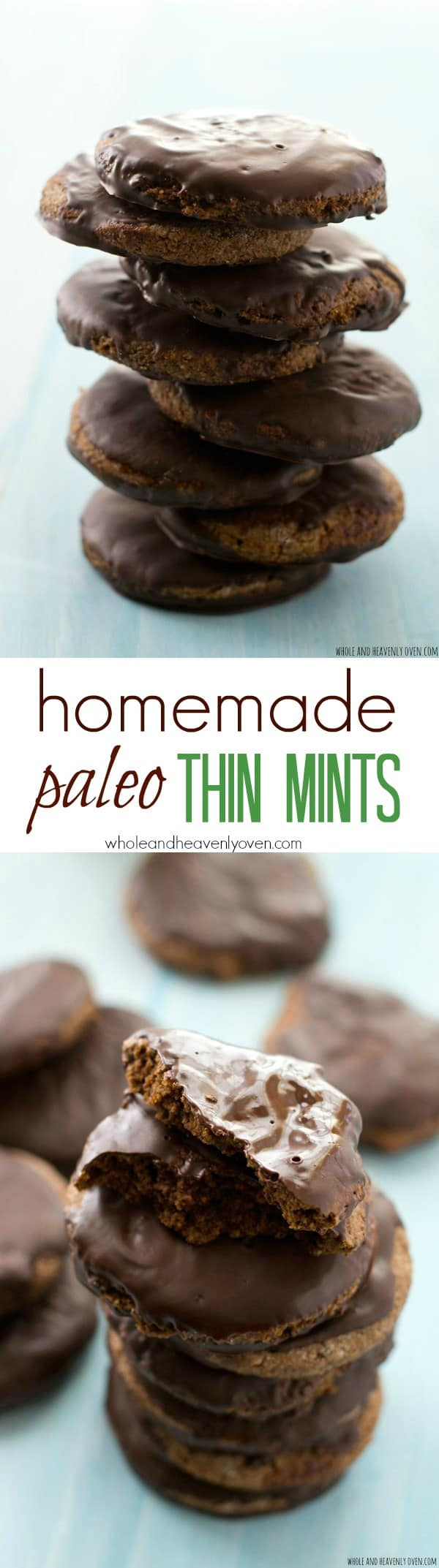 Now you don't have to miss out on the fun of Girl Scout cookie season with this allergy-friendly version of Thin Mints! Gluten-free, refined sugar-free, paleo, and totally addicting! @WholeHeavenly