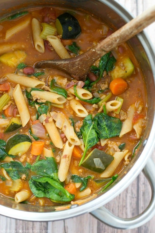 Springtime-Vegetarian-Minestrone-Soup