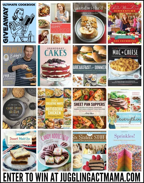 Ultimate Cookbook Giveaway - Enter to win at Whole and Heavenly Oven