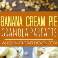 These loaded breakfast granola parfaits are like eating dessert for breakfast! No one will ever guess that it's healthier for you.