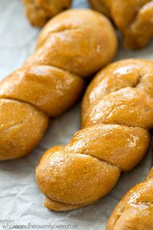 Sourdough bread without all the hours of work and made without sourdough starter in the form of adorable and addicting little bread twists!