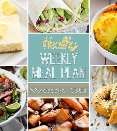 Plan out a healthy weekly meal plan the easy way from breakfast all the way to midnight snacks! Recipes featured from your favorite healthy food bloggers!