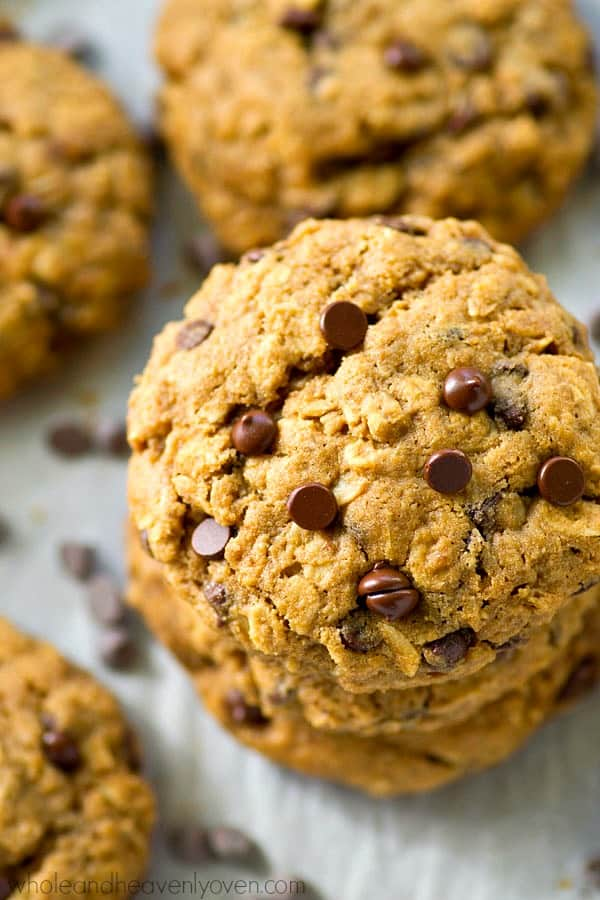 You'll NEVER find a more perfect oatmeal chocolate chip cookies recipe in the world!---They're unbelievably easy to make and I reveal all my secrets as to how they're so ridiculously soft and chewy!