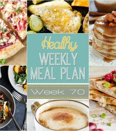 Plan out a healthy meal plan the easy way from breakfast all the way to midnight snacks! Recipes featured from all your favorite healthy food bloggers!