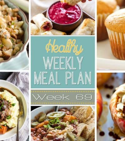 Plan out a healthy meal plan the easy way from breakfast all the way to midnight snacks! Recipes featured from all your favorite healthy food bloggers! Hey, guys!! Can you even believe that Thanksgiving is less than a week away? That's totally crazy to me and yeah, juuuuuust slightly freaking out over here. I donno about you, but I need all the easy meals I can get my hands on this week. You too? ---> --->