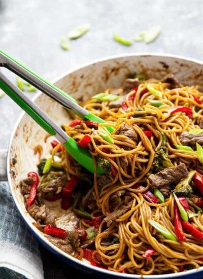 Beef Teriyaki Noodle Stir Fry