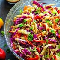 Peanut Sesame Thai Noodle Crunch Salad