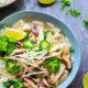 Shiitake Mushroom Roast Chicken Pho