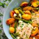 Sheet Pan Greek Salmon and Fingerling Potatoes