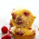 Lemon Ricotta Raspberry Muffins