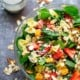 Strawberry Poppyseed Spinach Pasta Salad