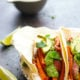 Jerk Sweet Potato Steak Tacos with Avocado Tomatillo Salsa Verde