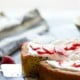 Browned Butter Strawberry Cornmeal Cake
