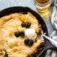 Brandy Peach Blackberry Cobbler