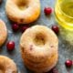 Cranberry Baked Apple Cider Donuts