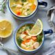 Turkey Orzo Kale White Bean Soup