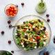 Cherry Caprese Pasta Salad with Basil Vinaigrette