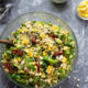 Charred Corn Sun Dried Tomato Orzo Salad