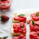 White Chocolate Strawberry Mousse Bars
