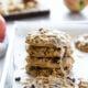 Iced Oatmeal Raisin Apple Cookies