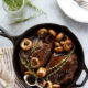 Skillet Balsamic Glazed Steak and Mushrooms